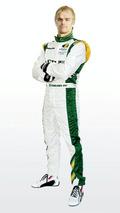 Heikki Kovalainen (FIN) - Lotus Cosworth Racing Launch - Formula 1 launch, 12.02.2010, London, England