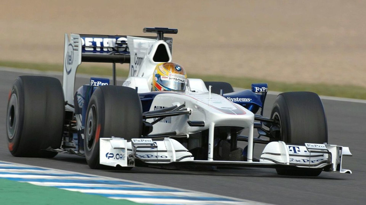 Esteban Gutierrez (MEX) tests the BMW Sauber F1.09, Formula One Testing Jerez Circuit, Jerez, 02.12.2009