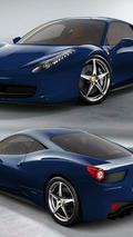 Ferrari 458 Italia - Blu 1