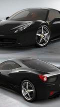 Ferrari 458 Italia - Nero
