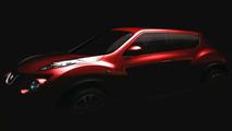 Nissan Juke teaser - 07.01.2010