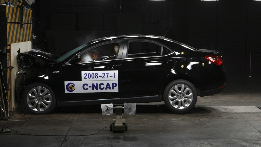 Video: Roewe 550 Receives 5 Stars in Chinese-NCAP Crash Tests