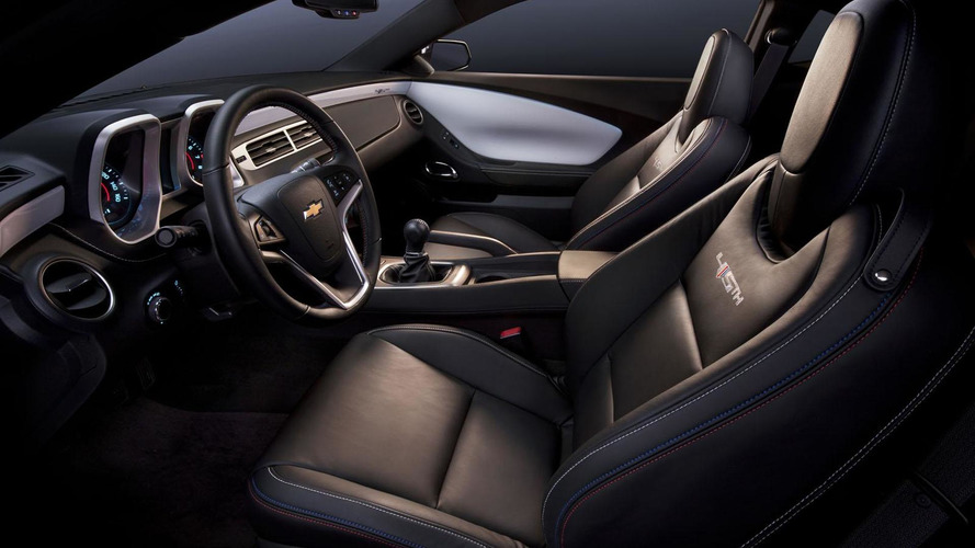 2012 Chevrolet Camaro updated - 45th Anniversary Edition announced