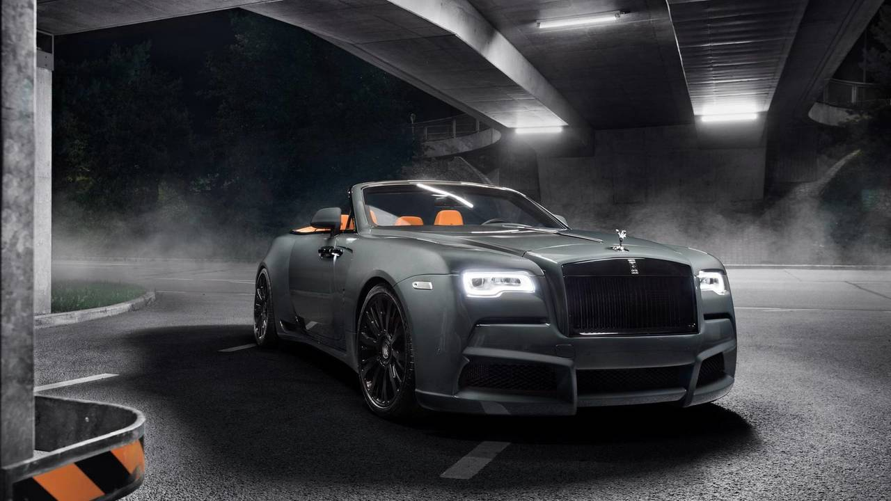 Rolls-Royce Dawn by Spofec