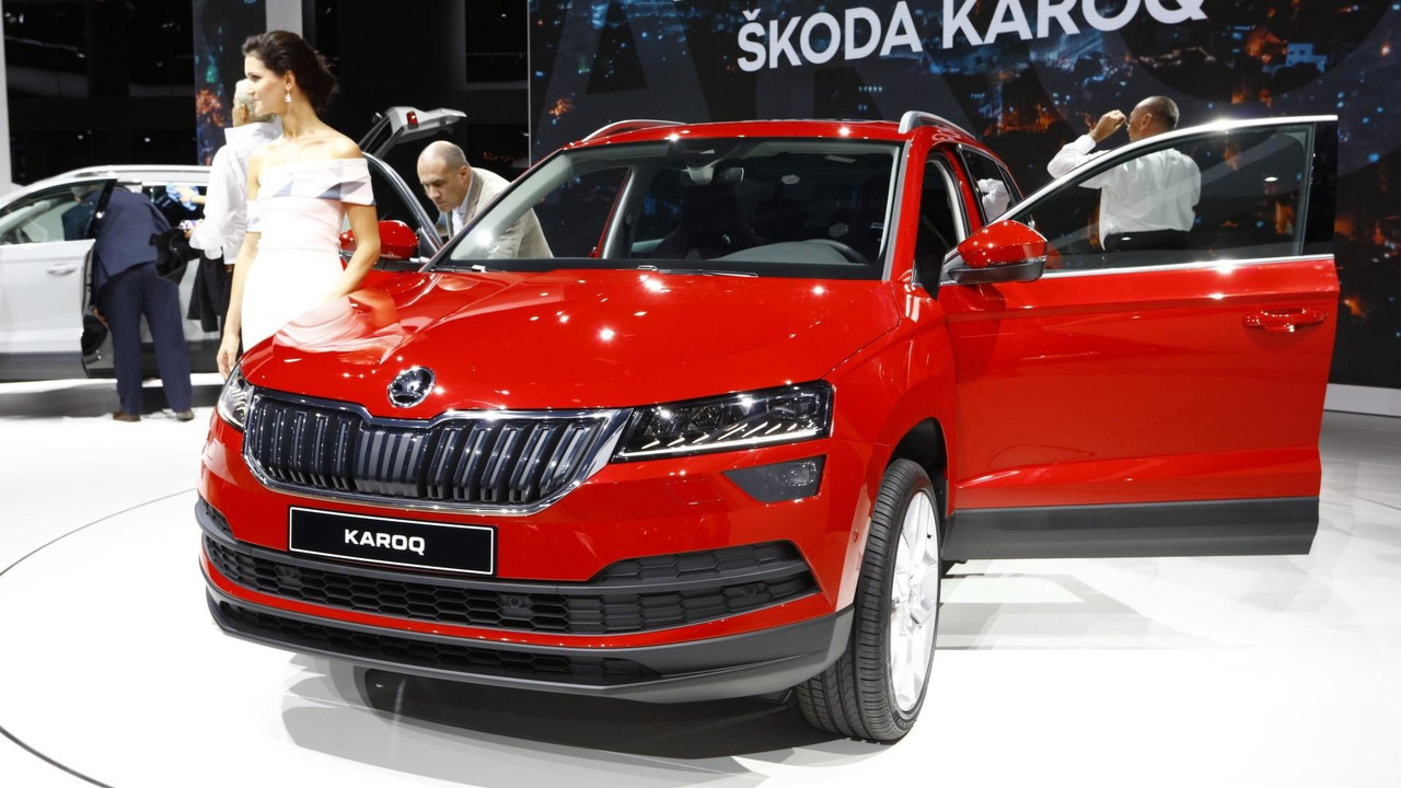 2018 skoda karoq live in frankfurt photo. Black Bedroom Furniture Sets. Home Design Ideas