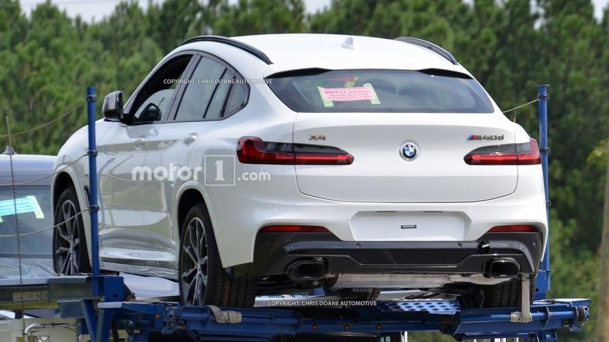 Le nouveau BMW X4 se présente sans camouflage !