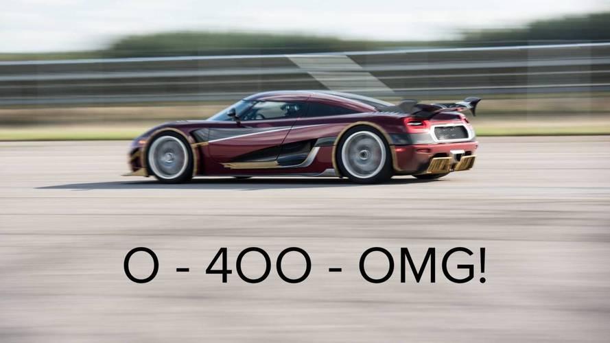 Koenigsegg insinua quebra de recorde de velocidade com o Agera RS