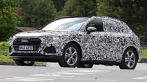 Audi Q3 spy photo