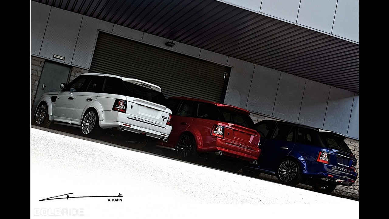 A. Kahn Design Range Rover Sport Patriotic Touch