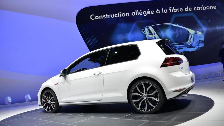 Volkswagen Golf GTI debuts in Geneva