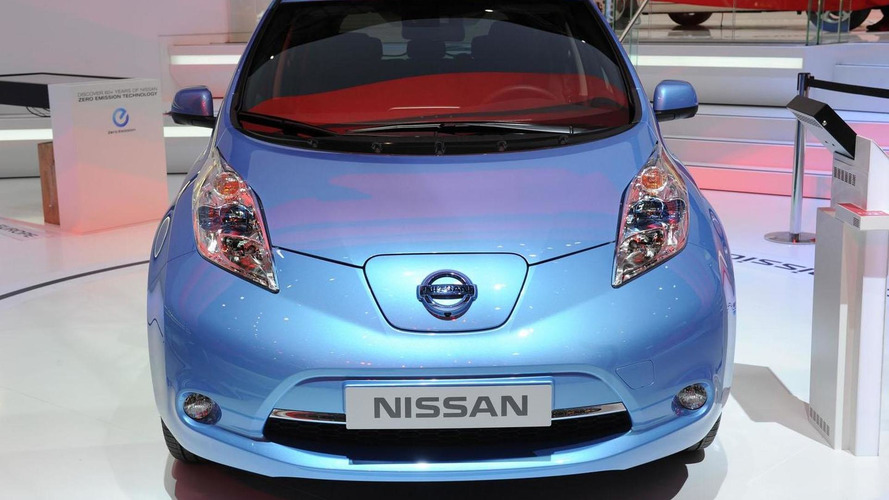 2013 Nissan Leaf Euro-spec gets an early debut in Geneva