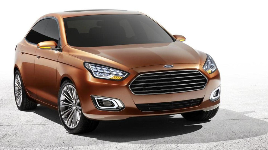Ford Escort Concept debuts at Auto Shanghai [video]