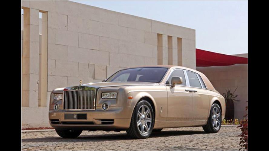 Falkenjagd in der Wüste: exklusive Rolls-Royce-Unikate