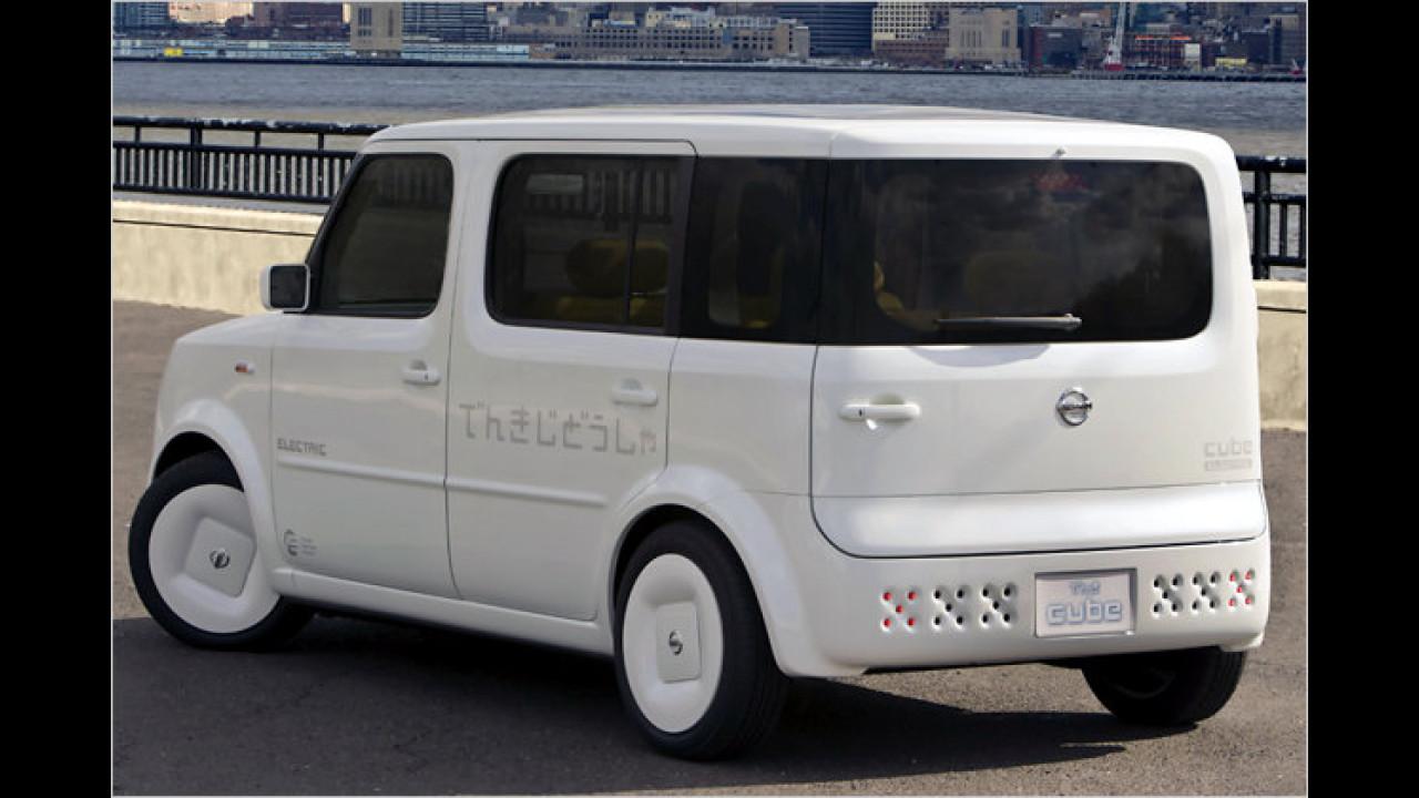 Nissan Denki Cube Electric Vehicle Concept