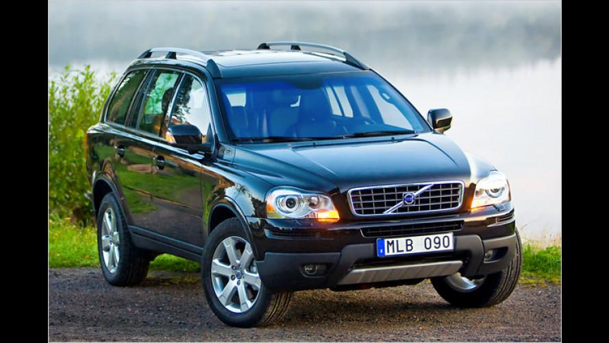 Volvo XC90: Ausstattungen fürs Modelljahr 2010 überarbeitet
