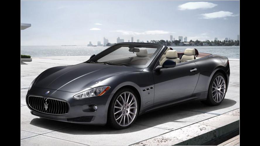 Maserati GranCabrio: 11.530 Euro teurer als das Coupé
