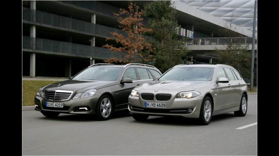 Touring vs. T-Modell: Premium-Kombis im Vergleichstest