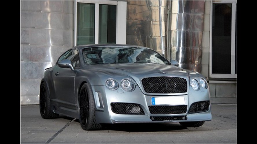 Knapp 700 PS im Bentley Continental Supersports