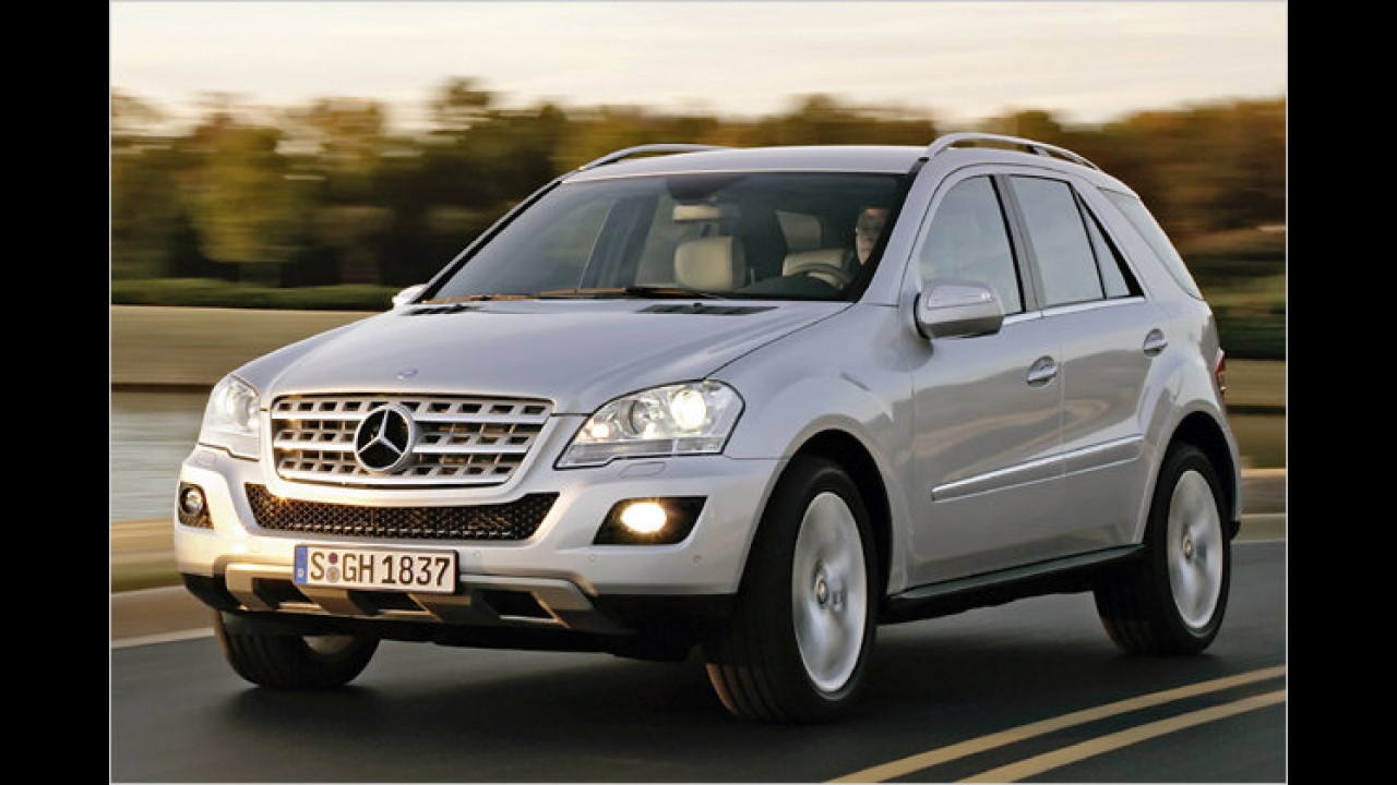 Mercedes ML 300 CDI BlueEfficiency 4Matic 7G-Tronic