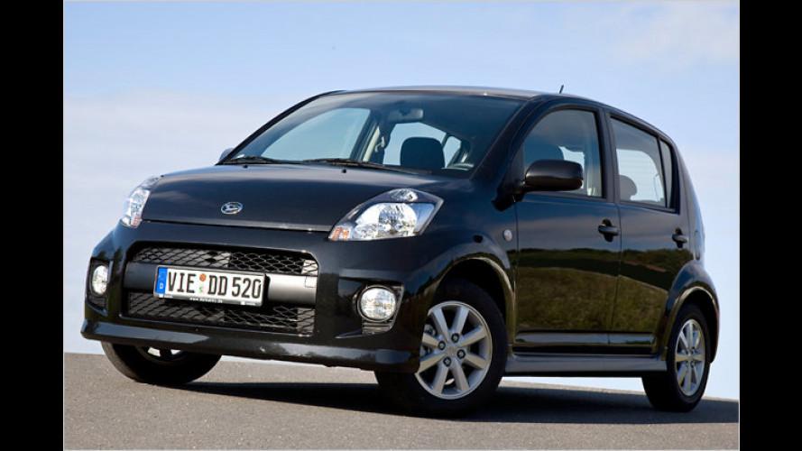 Daihatsu spendiert Sirion-Käufern Gratissprit