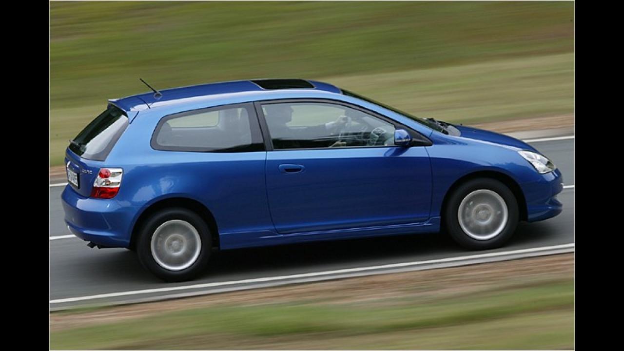 7. Platz: Honda Civic 1.4i LS
