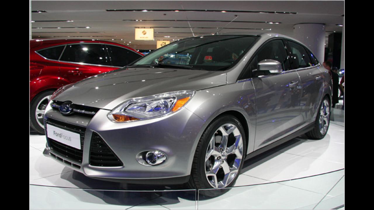 Platz 13: Ford Focus