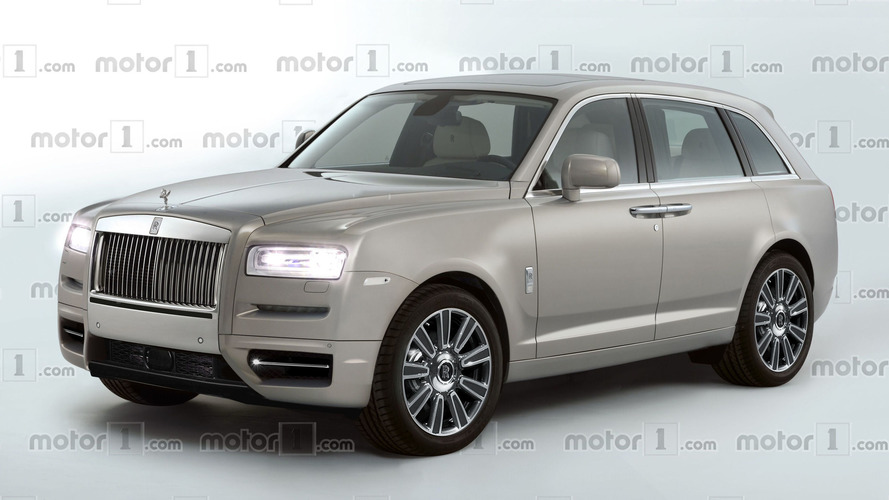 Rolls-Royce Cullinan'a tasarım yorumu geldi