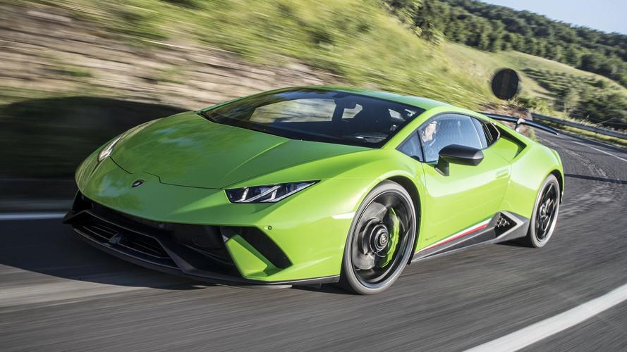 Lamborghini Huracan Performante'nin otoban performansı harika