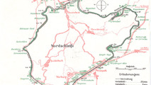 Map of the Nordschleife in 1936
