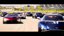Aston Martin Vulcan'lar Circuit of the Americas'da