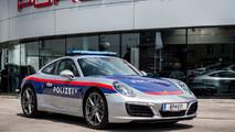 Porsche 911 police autrichienne
