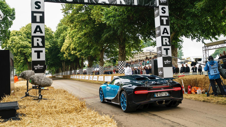 Bugatti at Goodwood Festival of Speed