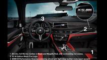BMW X5 M ve X6 M Black Fire Edition