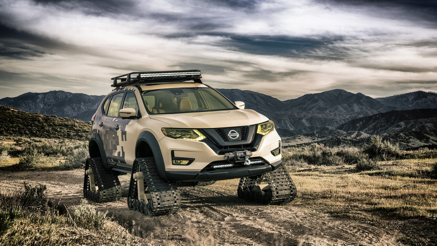 Nissan Rogue Trail Warrior Ready For The Zombie Apocalypse