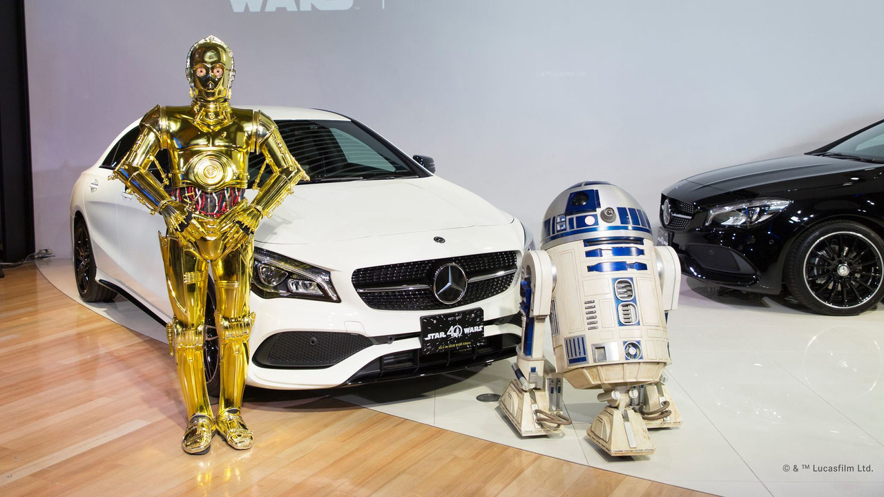 Mercedes-Benz CLA180 Star Wars