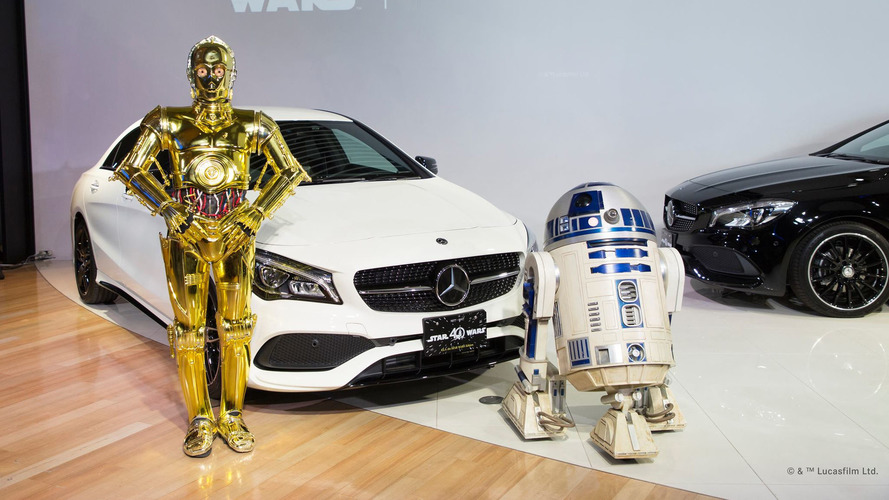 Mercedes CLA 180 Star Wars Edition, que la Fuerza te acompañe...