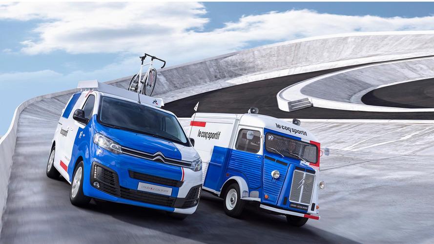 Classic Citroen Type H Van Becomes Modern Bike Workshop
