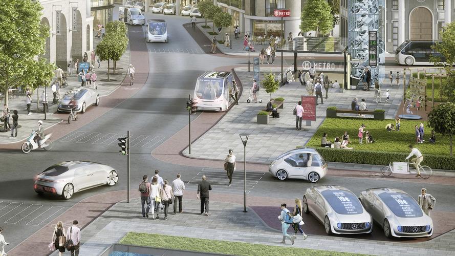 Mercedes ve Bosch otonom taksi üretiyor