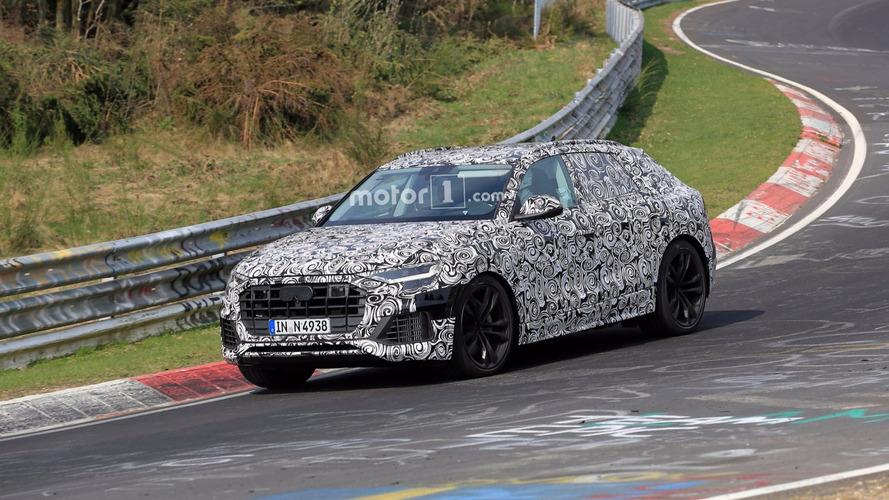 Audi Q8, Nürburgring'de objektiflere yakalandı