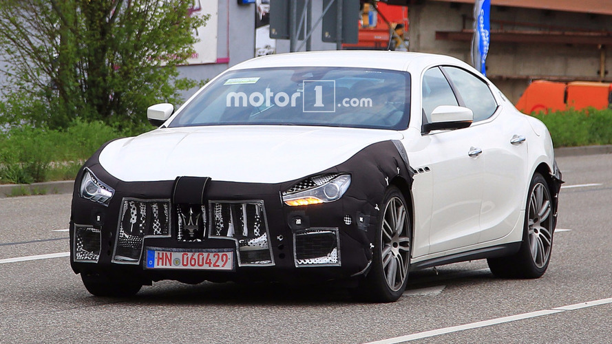 Maserati Ghibli Spy Photos Show Car Is Happy To Be Out Of Snow