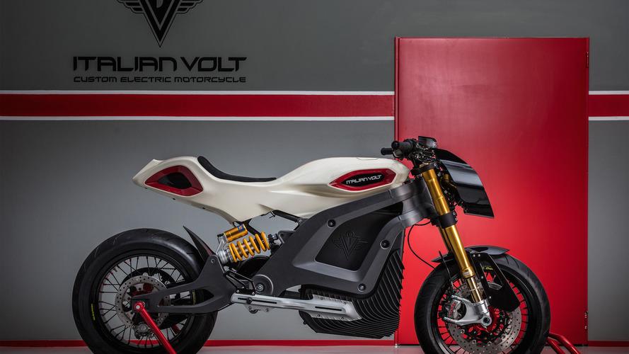 Italian Volt y sus motos a la carta