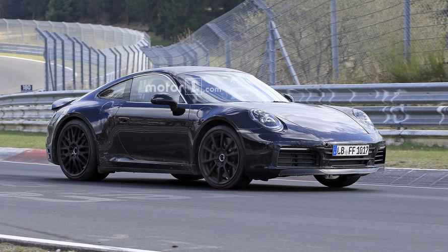 Bu 2019 Porsche 911 prototipi hibrit mi?