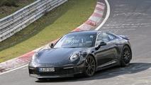 2019 Porsche 911 yeni casus fotoğrafları
