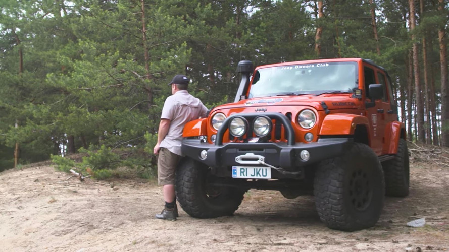 Brit's Bright Orange Wrangler Wins Top Honours at Camp Jeep: [sponsored content]