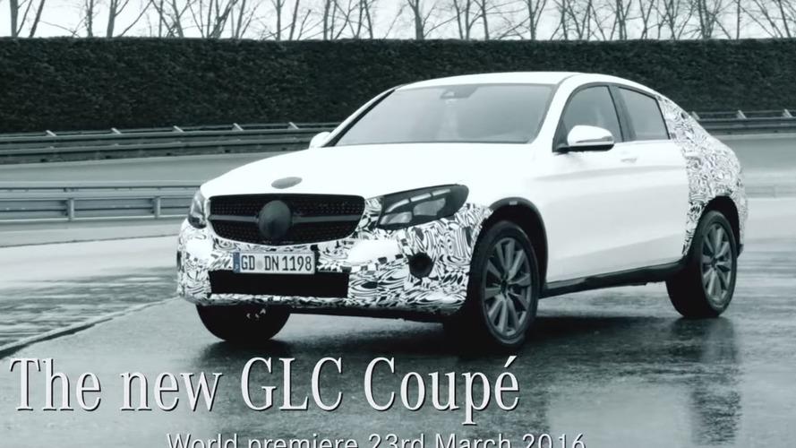 Mercedes dévoile le GLC Coupé en vue du Salon de New York