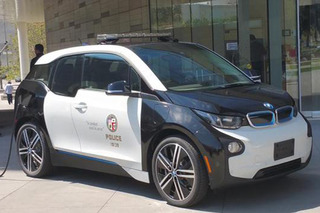 The LAPD Adds a BMW i3, Tesla P85D to its Police Car Fleet