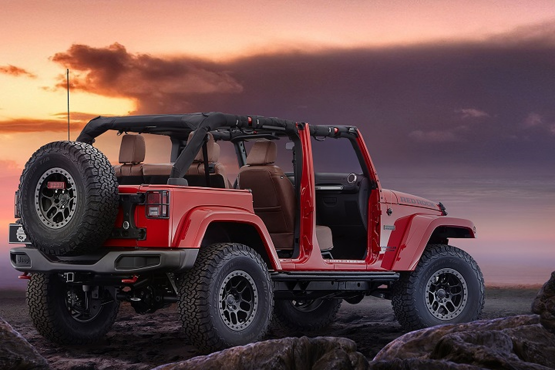 Jeep Red Rock Wrangler Rubicon Is Ready To Conquer Moab