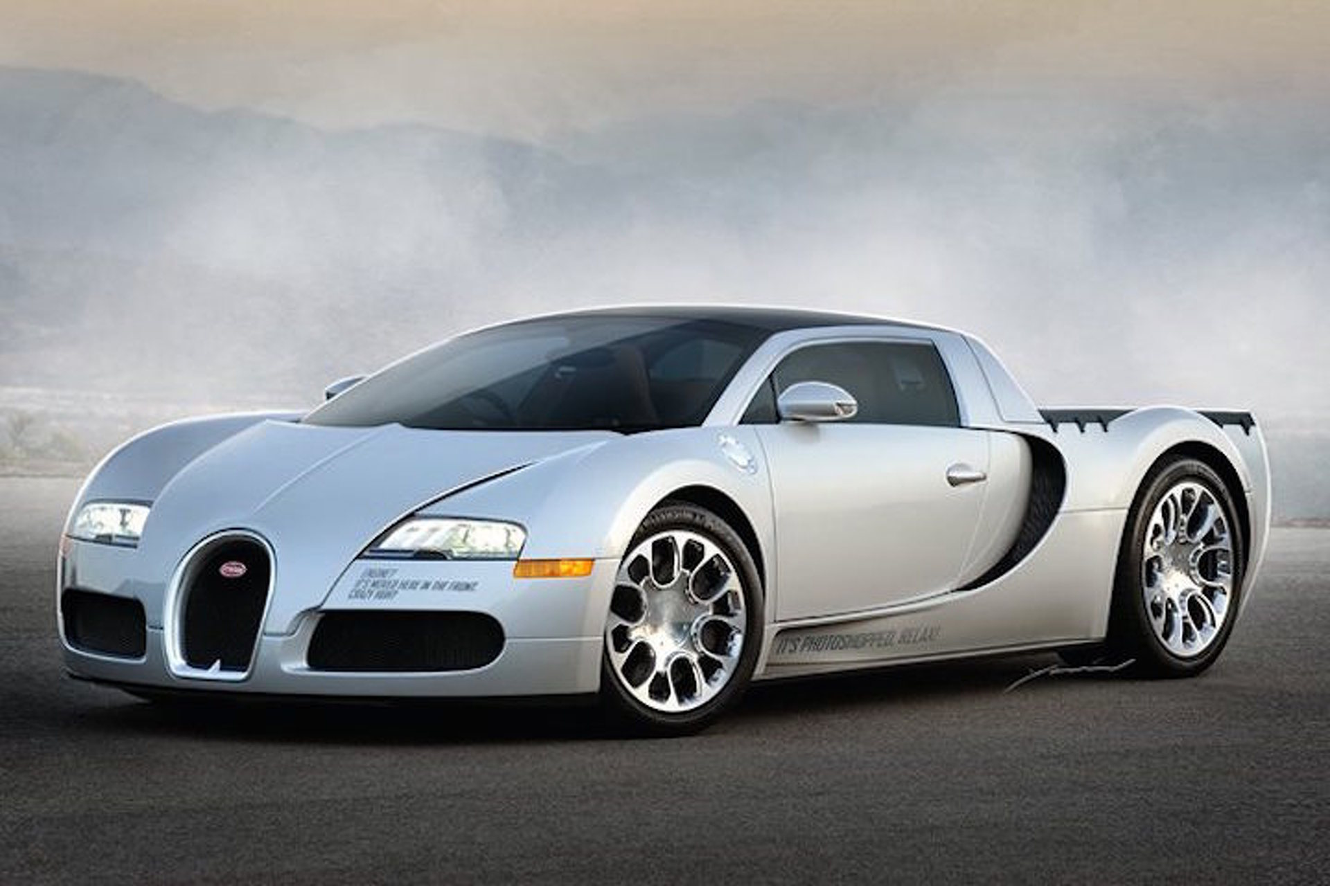 Imagine If the Bugatti Veyron Were a Pickup Truck
