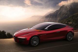 Alfa Romeo Disrobes Its American-Aimed Gloria Concept