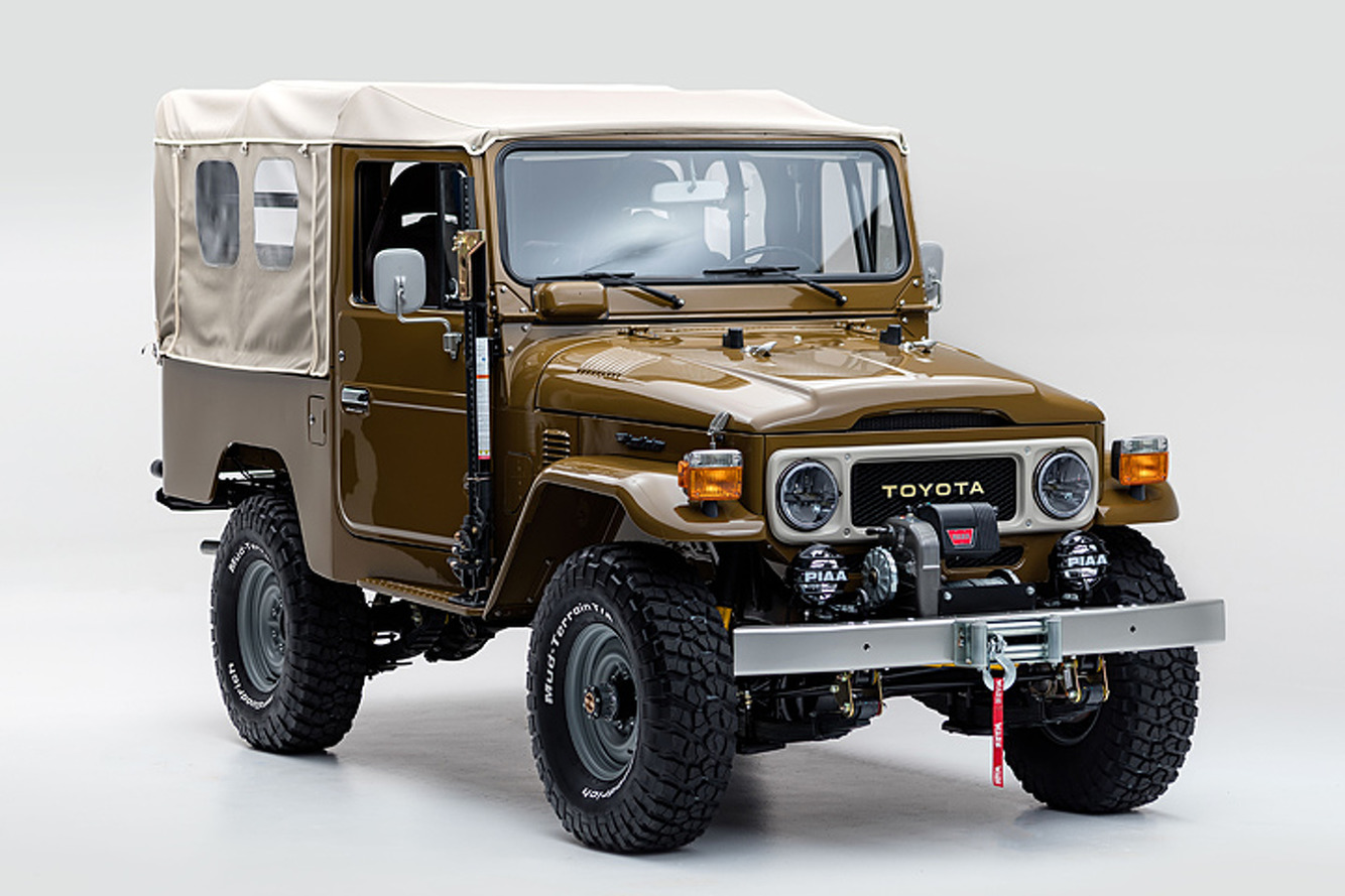 this vintage 81 toyota land cruiser is perfectly wild. Black Bedroom Furniture Sets. Home Design Ideas